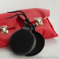 Castañuela de tela negra veteada | Castañuelas Jota