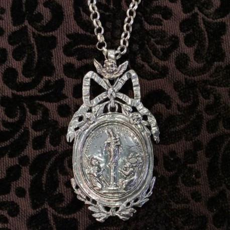 Medalla reproducción en plata