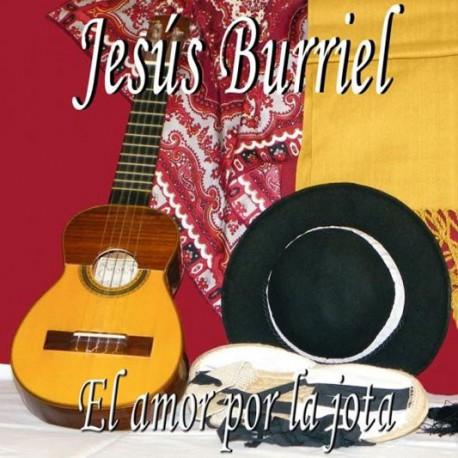 """CD Jesús Burriel """"El amor por la jota"""""""